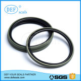 Anillo de PTFE/Glyring con juntas de la materia prima importada