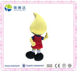 Nice mascote da empresa de pelúcia personalizados publicidade brinquedo promocional