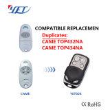 3 Botones Brasil Peccinin automático de puertas de garaje compatible 433.92MHz Remote