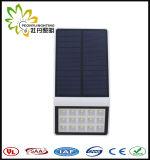 Prix usine ! ! Lumière solaire du mur IP65 ! A intégré tous dans un réverbère de DEL ! ! Détecteur de mouvement + lumière + contrôle obscurs ! ! Jardin/cour/rue/route/pelouse extérieurs