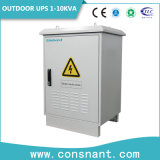 Telecom exterior 48VCC UPS en línea con la batería de litio hierro