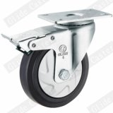 중간 의무 탄력 있는 고무 조정 피마자 바퀴 G3414
