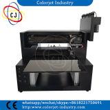 A3 크기 8 색깔 3D 효력 유리, 세라믹 인쇄 기계 300X600mm 평상형 트레일러 UV LED 인쇄 기계