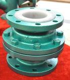 De anti Corrosieve Gevoerde Klep van de Controle van het Type van Lift (FEP/PFA/GXPO)