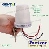 Interruptor leve ajustável do sensor da fotocélula do sensor da luz da luz do dia da boa qualidade