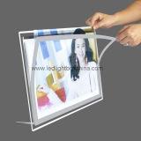 Luz de fundo LED LED Picture Frame Caixa de Luz