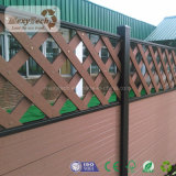 Le WPC des clôtures en bois de clôture en treillis clôtures composite pour la maison de l'utilisation