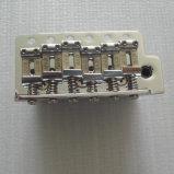 Bloc de selle en acier de pont en guitare de début de cru de matériel de guitare plein