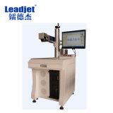 El HDPE industrial transmite la máquina de la marca del laser de Fiiber