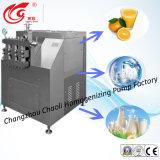 Grand, 2500L/H, pression de Gigh, lait, homogénisateur liquide