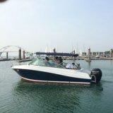 barco de pesca da velocidade da fibra de vidro do único motor de 22FT com Ce