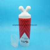 メッセージのローラー球が付いているHightデザインプラスチック装飾的なクリーム色の管