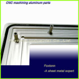 Parti di macinazione dell'alluminio di montaggio personalizzate fabbrica della lamiera sottile di precisione di iso