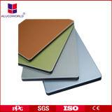 4mm 3mm en aluminium panneau composite de matériau de revêtement de mur extérieur