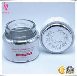 Contenitore di vetro cosmetico con il siero facciale