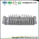 Alta precisión de aluminio plateado Anodize Extrusión de materiales de construcción