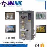 Machine à emballer liquide du soja Sj-Zf2000 à jus de boîte de pétrole automatique de l'eau