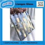 Vidrio gris elegante transparente de la decoración del hotel