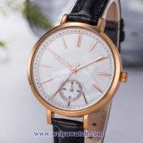 Tira de couro OEM Senhoras Quartz Relógios sabia, Senhora Assista (WY-17032)