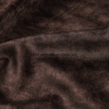 2018 Polyster истощения списков бархатной ткани для диван