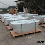 China-Lieferanten-feste Oberflächensteinacrylsauerbadewanne für Hotel-Projekt