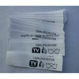 Impresión de encargo al por mayor de Faric/escritura de la etiqueta tejida para la ropa