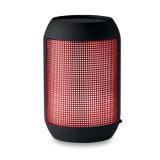 Bluetooth pode dar forma ao altofalante com mudança da luz do diodo emissor de luz com logotipo personalizado