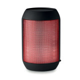 Bluetooth는 주문을 받아서 만들어진 로고를 가진 LED 빛을 바꾸기를 가진 스피커를 형성할 수 있다