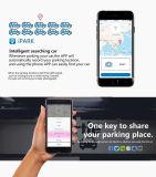 carregador rápido portátil do carro do GPS do telefone 2-in-1 móvel com bluetooth