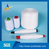 공장 옷 직물 Hubei 기점 종이 플라스틱 관을%s 싸게 회전된 폴리에스테 Dyeable 꿰매는 스레드