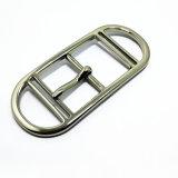 La boucle de courroie en alliage de zinc de Pin de boucle de Centerbar en métal de qualité pour la robe ceinture les sacs à main de chaussures de vêtement (ZD768)