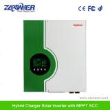 3kVA de Omschakelaar van het het van-netHuis van de 2400W Hoge Frequentie met ZonneLader MPPT