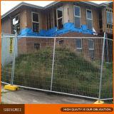 Facile sur le fil galvanisé temporaire panneaux de clôture à mailles