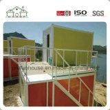 Casa modular prefabricada del envase de la casa del edificio como tocador público portable