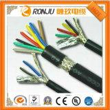Núcleo contínuo de cobre Sheathed PVC X do cabo 3 da isolação do PVC do cabo Uo/U 300/500 V de Nym-J 2.5 milímetros quadrados