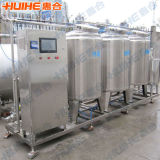Sistema di Cip di pulizia della fabbrica del latte dell'acciaio inossidabile