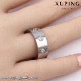 13974 Ring van de Vinger van de Juwelen van het Roestvrij staal van het Zirkoon van de manier de Koele voor Mensen
