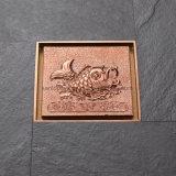 El oro de drenaje de piso de color personalizado