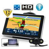 """Novo 5.0"""" Carro elevador Marine navegação GPS com sistema de navegação GPS de Wince 6.0, transmissor FM, entrada AV-in para o Navegador GPS da Câmara de Estacionamento Sat Nav, Bluetooth"""