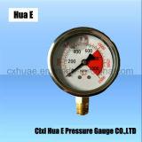 2.5inches 방열 Antisepsis 압력 계기