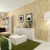 Papel de empapelar, Wallcovering, decoración de la pared, tela de la pared del PVC, hoja del suelo del PVC, piel de ciervo del papel pintado del PVC 3D