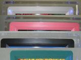 Pequeña venta del marco de la foto del LCD Digitaces 7 de la pulgada transparente de acrílico clásica (MW-074DPF)