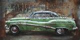 車のための3つのDの金属の絵画壁Deocr