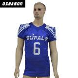 Großhandelsqualitäts-Ineinander greifen sublimierte amerikanischer Fußball-Uniform (AF012)