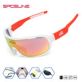 Sposune Windproof Protectinve niñas elegantes gafas deportivas Deporte gafas de sol