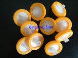 Filtros de seringa 0,45 Filtro de seringa de nylon para HPLC