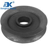 Roda Ductile da polia da carcaça de areia do ferro da fábrica do OEM de China