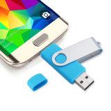 8-128GB USB Pendrive instantâneo do giro OTG com os certificados do FCC de RoHS do Ce