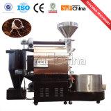 Brûleur de café commercial du tambour 20kg/30kg de gaz d'acier inoxydable à vendre