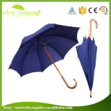 AUTOMATIC Wooden popular 23inch Promotional Straight Umbrella